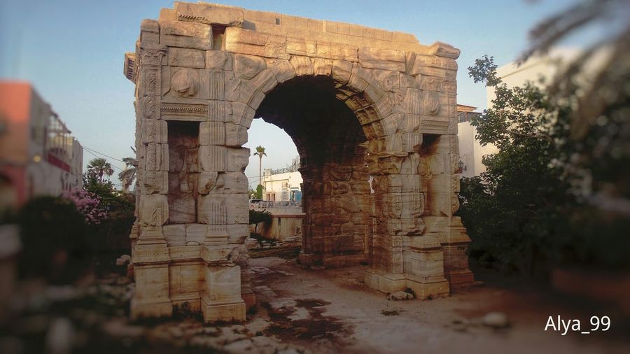 Architecture History Arch Ancient Marcos قوس ماركوس My Work Hello World ✌ Fotography First Eyeem Photo My New Work Tripoli Libya