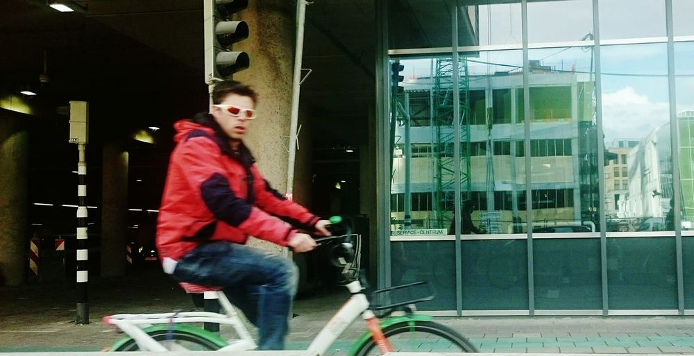 My Bycicle Project Typical Dutch Utrecht Suspicious Dutchpeople Capturing Movement City Life Reflections