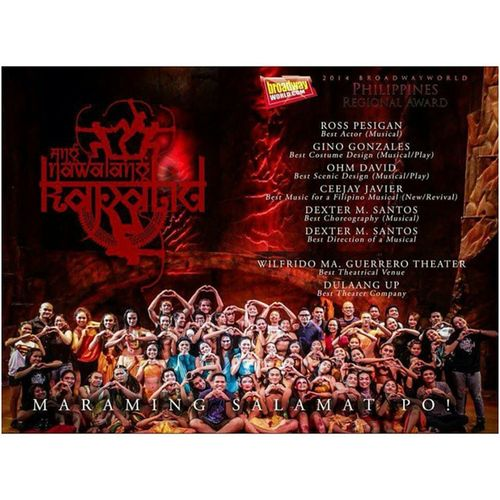 Giblab! 💓👍 AngNawalangKapatid Dulaangup BroadwayWorld BroadwayWorldPhilippines