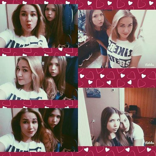 Приехала моя@yuliabrazhnikova 😍😘😘. Спасибо ей за чудесные Выходные , я буду ждать тебя Снова . Приезжай. люблю 😻😻💑💖💞💗❤💚💜💙💛💓💕💖. Снова повторим нашу сумасшедшую прогулочку 😜😵👧🙈👄💨💋💋💃👯🙆🍔🍟☕🍸🍰🎶🎶