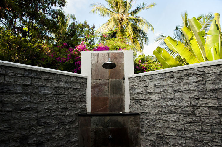 Luxury Resort Bathroom Shower Exotic Holiday Resort Maldives Bathroom Island Palm Tree Shower