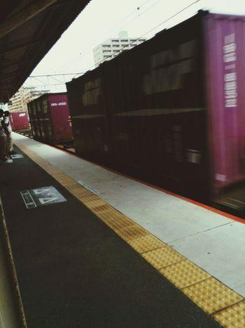 帰ります。🚃👋 Railway Station Train Station Go Home