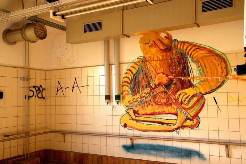 Fleischfabrik Berlin Berlin Streetart Graffiti Streetart