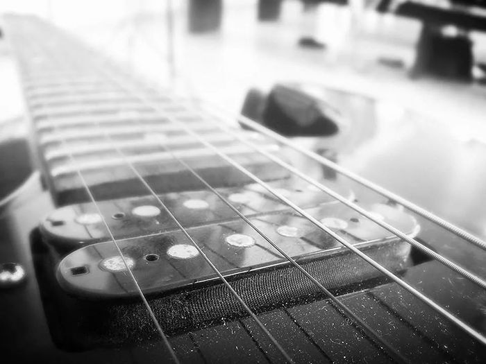Guitarra Guitar B&w Passion