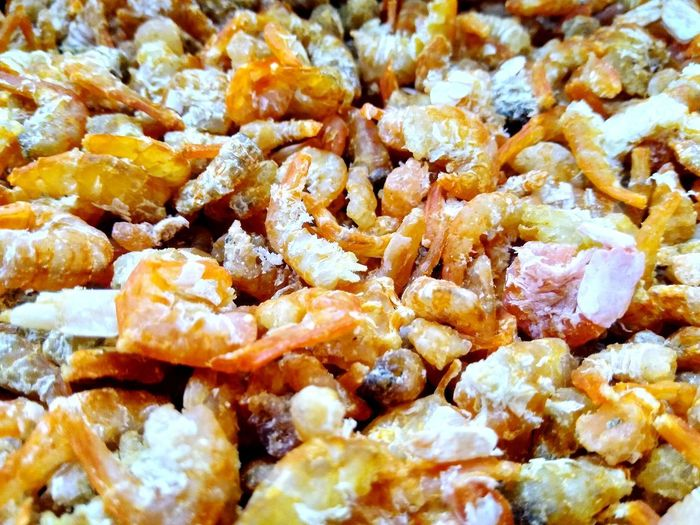 shrimp Prawn Prawnlover Food Backgrounds Full Frame Close-up Dried Textured  Detail Dried Fruit Dried Food