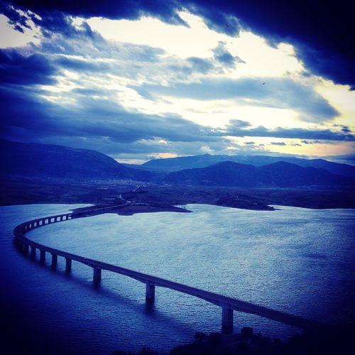 Amazing View Enjoying The View Bridge Clouds Relaxing Time