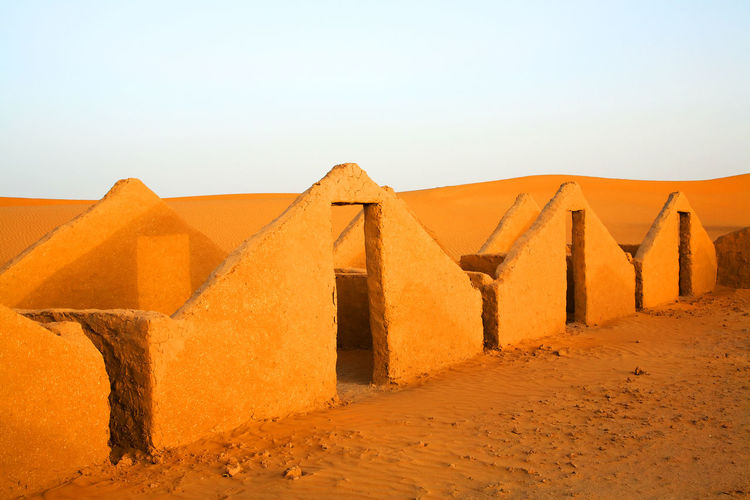 Built Structure In Desert