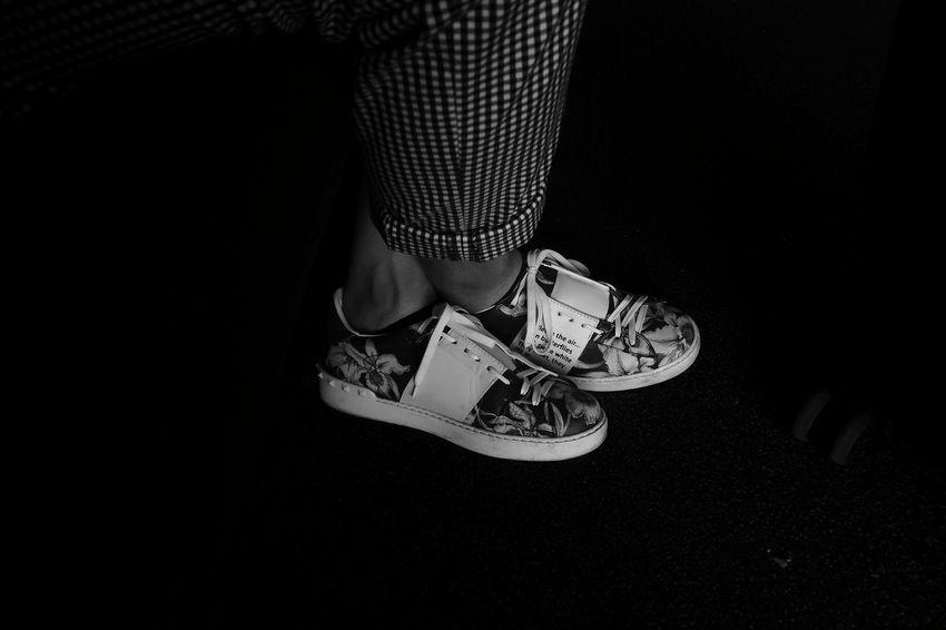 Blackandwhite Mensfashion Menswear Raw RAWphotography EyeEm Best Shots Eye4photography  EyeEm Selects EyeEm Best Shots - Black + White Urban Grunge Rebel Vibrant Point Of View Low Section Human Leg Standing Shoe Sandal Human Foot Canvas Shoe Limb Footwear Foot