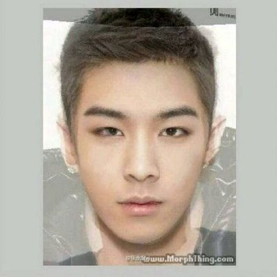 TOP and TAEYANG's combine face