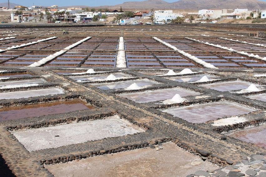 Las Salinas Day Nature No People Outdoors Salt - Mineral Salt Basin Salt Flat Water