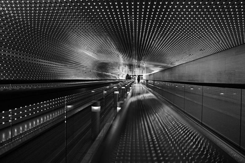 Tunnel vision National Gallery Of Art EyeEm Best Shots - Black + White Blackandwhite No Filter The Purist (no Edit, No Filter) The Traveler - 2015 EyeEm Awards The Architect - 2015 EyeEm Awards Sony A6000