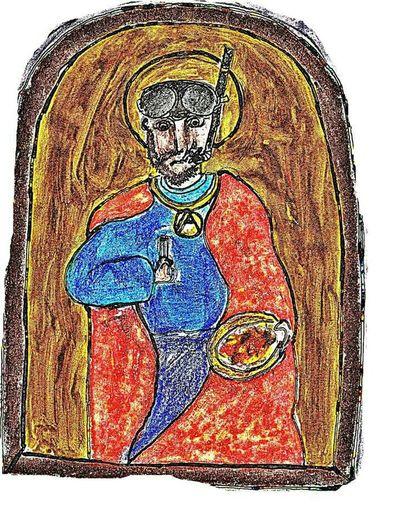 Byzantine That's Me Byzantium Icon Holyicon Byzantine Museum Neo-byzantin Art Byzantine Architecture Mosaic Benedictus