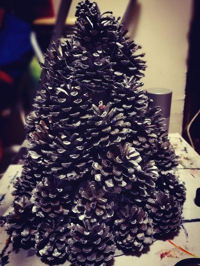 Handmade For You Christmas Decoration Tree Christmas Christmas Tree First Eyeem Photo