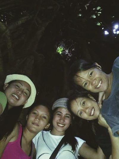 Friendship inside balete tree Happy Kiddo :)  It's A Thousand Storys Behind This One Smile :) EyeEm Best Shots Filipina Beauty Appreciating Nature