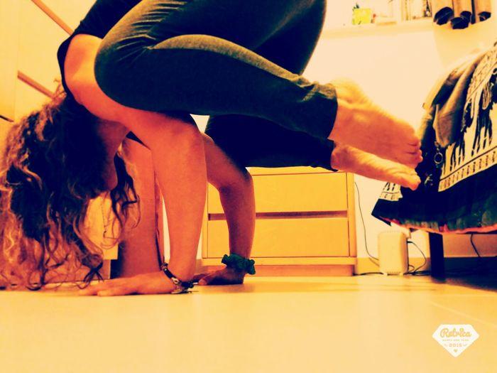 Getting Creative Yoga ॐ Keep Doing Determination Noproblem Relaxing Italiangirl