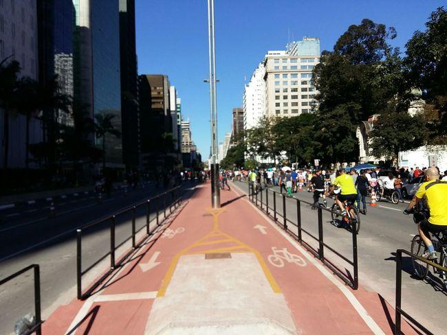 São Paulo entrando nad cidades com inclusão ao ciclista. Bike SAMPAcity