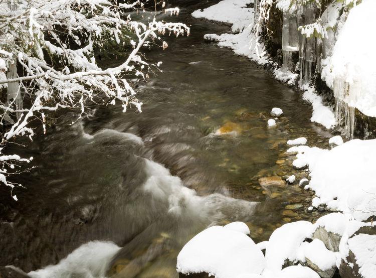 #beautifulbc #brandywinecreek #Nature  #nopeople #smallwaterfall #snowybanks #supernaturalBC