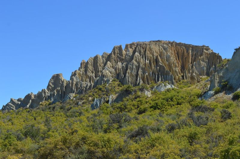 Clay Cliffs Omarama New Zealand Clay Cliffs Nature Clear Sky Rock - Object No People Blue Beauty In Nature Mountain Day Landscape Scenics Outdoors Sky