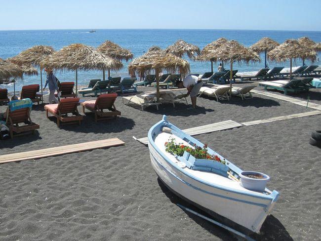 Perfect life in Perissa, Greece :) Enjoying Life Life Is A Beach CarpeDiem  Lovelife