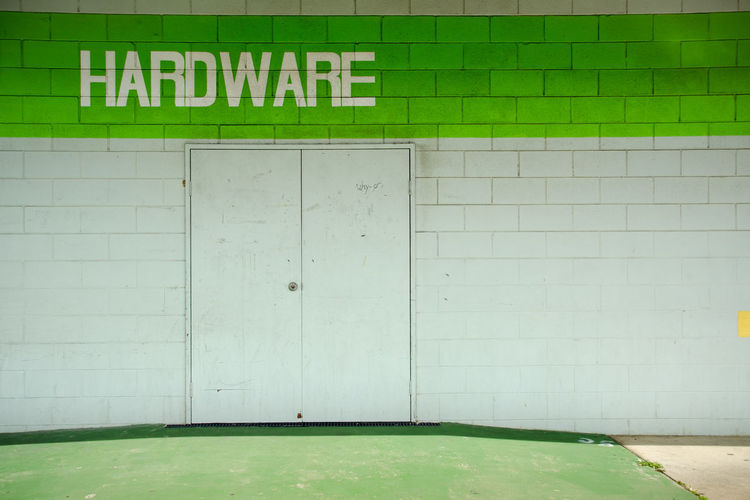 Thursday Island Textures And Surfaces Hardware Store Typography Typo Australia & Travel Pattern, Texture, Shape And Form Closed Door Muster Mix Shop Signs Shopping ♡ My Eyes My Australia Urban Exploration Color Design Space Typo Around The World Architecture