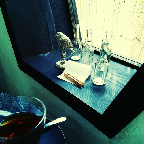 Table Indoors  No People High Angle View Drinking Glass Food And Drink Luxury Day Perfume Close-up