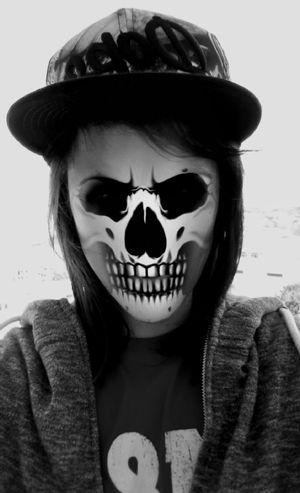 Snapchat Filter Funny Skull