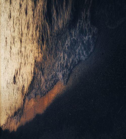 waves Backgrounds Textured  Full Frame Sunset Close-up Sky Sand Sandy Beach Beach Calm
