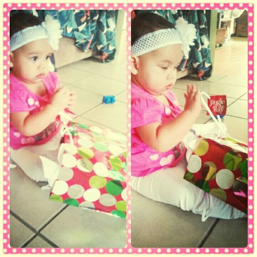 SHE JUST WANTED HER BELL #PRESENT #THEPRETTYBABY #XHAELIJANE #CHRISTMAS #LATEUPLOAD My Xhaeli-baby