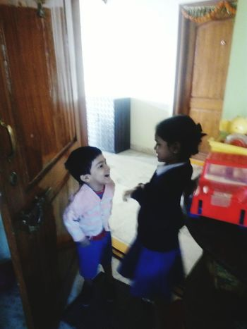 Child Two People Children Only Lifestyles Day Brotherlylove Childhood SisterLovee ♥