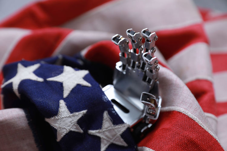 Red Close-up One Person Flag Patriotism Human Body Part Human Hand Selective Focus Indoors  Clothing Shape Textile Midsection White Color Focus On Foreground Personal Perspective Finger