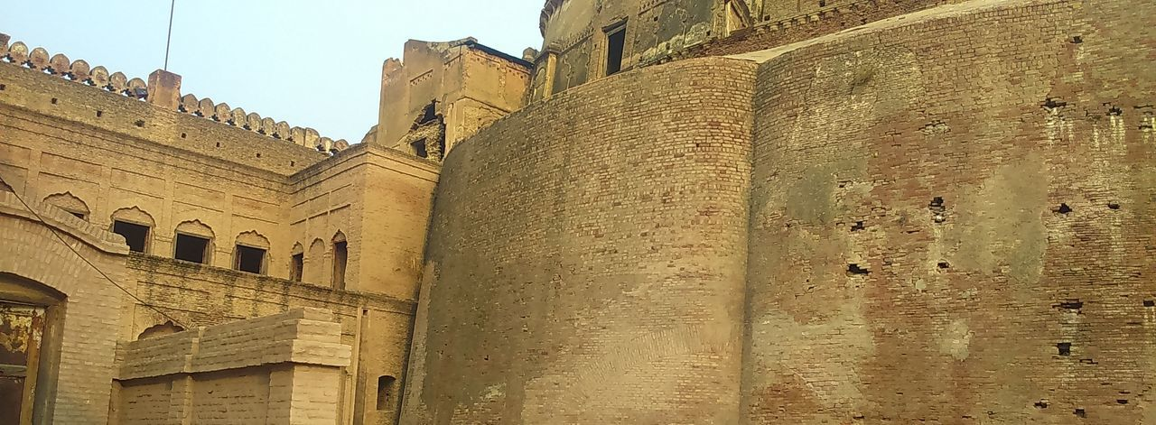 Rajia sultan fort, Bathinda Architecture History Built Structure Building Exterior Low Angle View Travel Destinations Ancient Pyramid Day Ancient Civilization Outdoors No People Sky