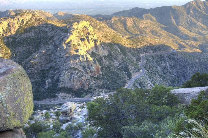 Catalina Mountains  HDR Mountain Mountain Range Scenics