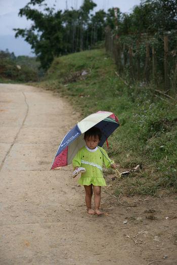 Alone Child Childhood Forlorn Kid Sapa, Vietnam Simplicity