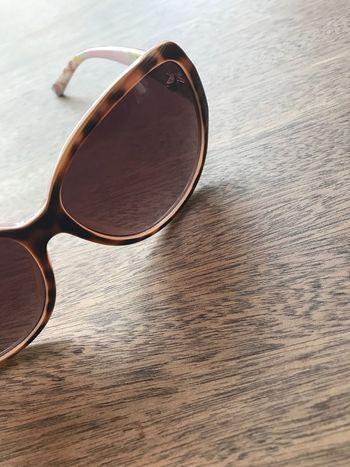 Sunglasses Eyewear Still Life Eyeglasses  Wood - Material Table Brown No People Eyesight Day Indoors  Close-up
