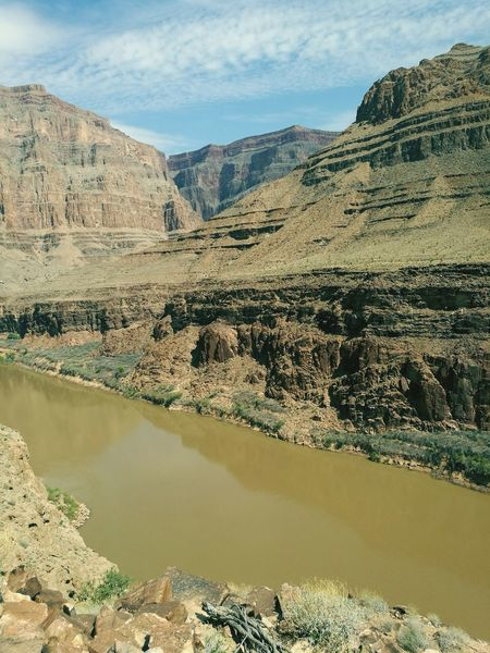 EyeEm Selects grand canyon Mountain Water Scenics Landscape Nature Desert Mountain Range No People Beauty In Nature