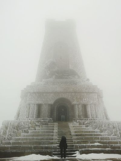 Frozen Iconic Iconic Buildings Iconic Landmark Winter Wintertime Backgrounds Frozen Extreme Weather Huaweip20pro Huaweiphotography Copy Space EyeEm Gallery Bulgaria Shipka,Bulgaria Shipka Monument Shipka Memorial Mobilephotography Mobile Photography PhonePhotography Cold Day Beautiful Stockphoto Stockimage Fog Place Of Worship Ancient History Architecture Sky Built Structure Building Exterior Civilization