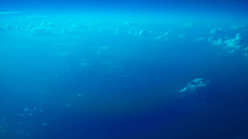 Japan Blue Sky And Clouds Blue Sky From An Airplane Window Cloudy Blue Water Blueish Landscape Showcase July