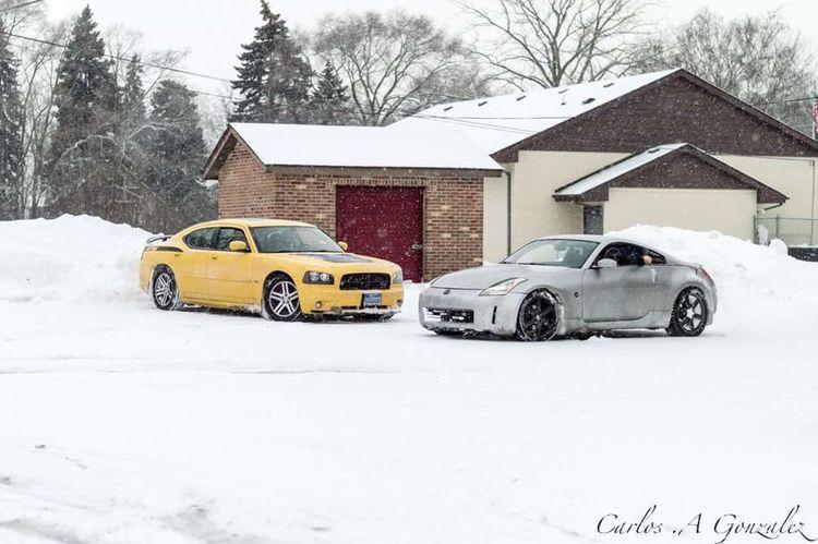 Fun Snow Automobile Auto Winter Nikon D3200 Nikon Wisconsin Outdoors Nissan 350z Nissan Dodge Charger Daytona