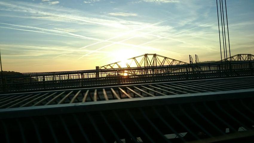 Forth Rail Bridge Edinburgh Sunrise ForthRailBridge First Eyeem Photo EyeEmNewHere
