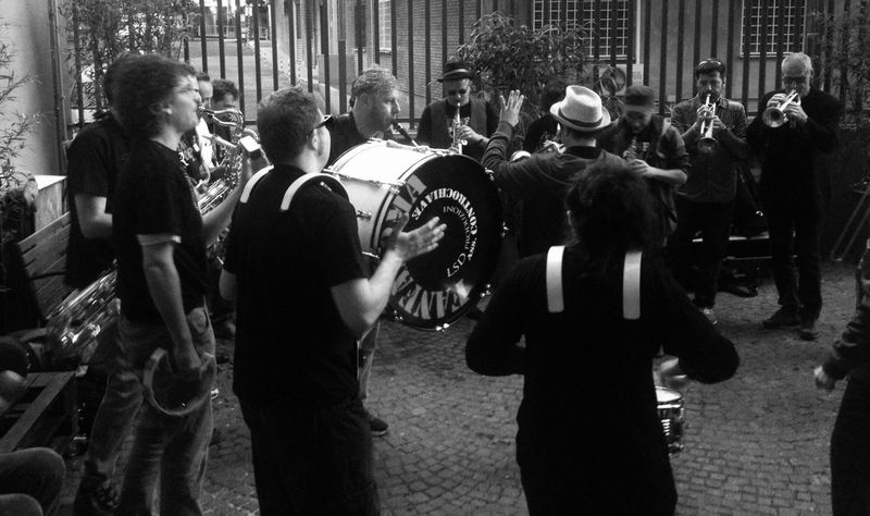 May EyeEm Best Shots @ Ernesto Galizia Contemporary Art Roma ! Music Jazz Band Blackandwhite Streetphotography