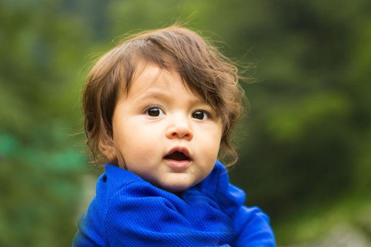 Baby Babyboy Child Cute Headshot Indoamerican Kid Portrait Smile