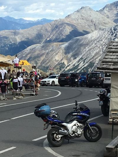 Transportation Mountain Road Mode Of Transportation Motorcycle Group Of People Travel