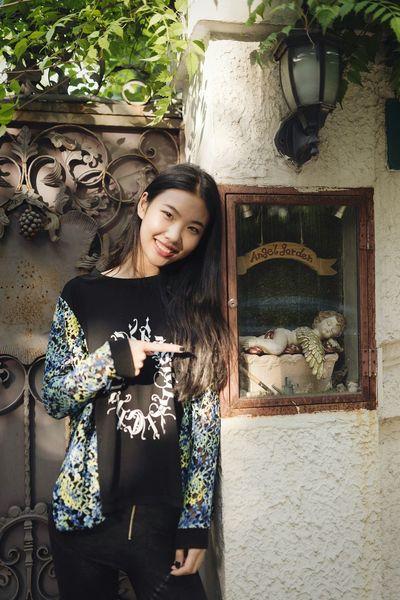 In The City Shanghai Enjoying Life BABYGHOST Beauty Girl Streetphotography Fashion Nikon Sigma
