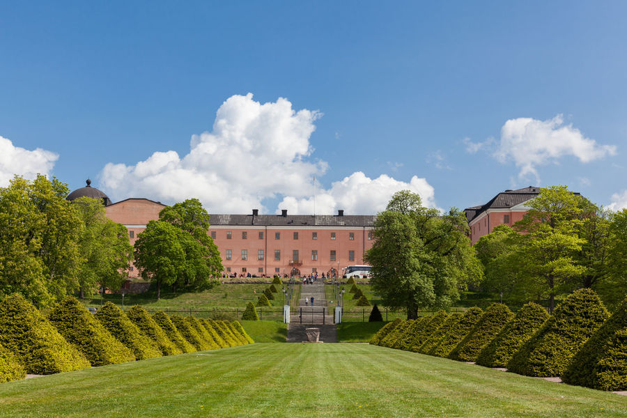 View of the Uppsala Castle from the Uppsala botanic garden. Architecture Architecture Botanic Garden Castle Cloud Europe Garden Grass Outdoors Scandinavia Sweden Uppsala Uppsala Castle Uppsala, Sweden