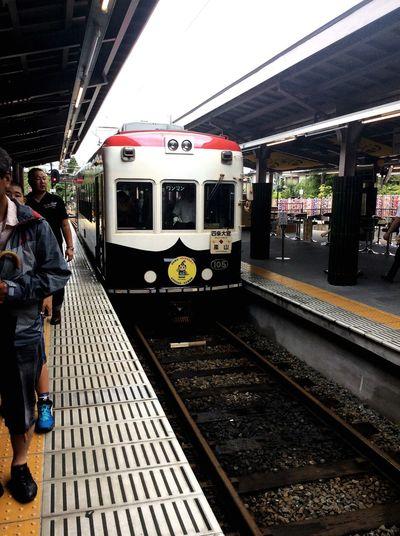 嵐山 嵐電 たのしい 京都