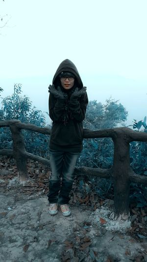 0 C Beautiful Woman Cold Temperature Lifestyles Standing Winter