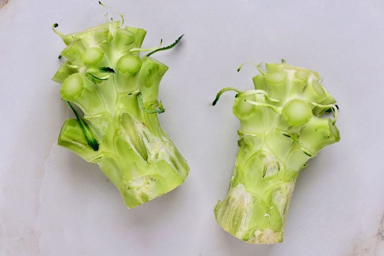 Healthy Eating Green Color Vegetable Freshness Live To Eat Broccoli Stalk Of Broccoli Spear Food