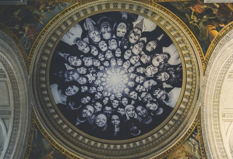 All Eyes On You Things I Like Art Architecture Portrait Interior Collage Bnw Portraits Pantheon Paris