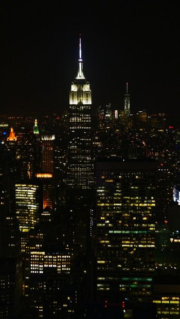 Empire State Building Top Of The Rock Nightphotography City Lights Night Lights New York City Urbanphotography New York At Night I Heart New York