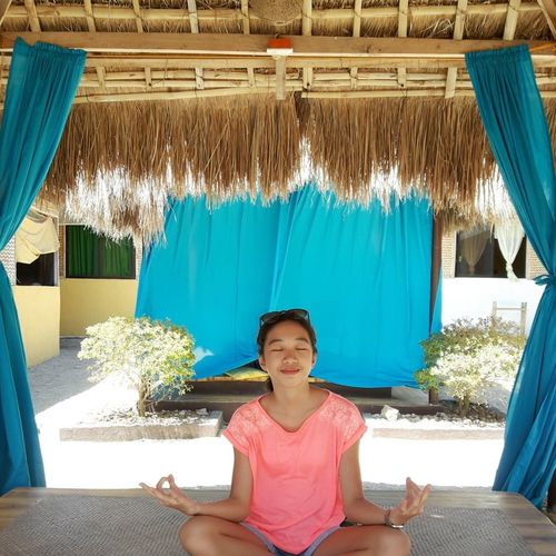 #relaxation #saiailan #spcp_8_emotions #thegreymatter Blue Lifestyles Outdoors Portrait